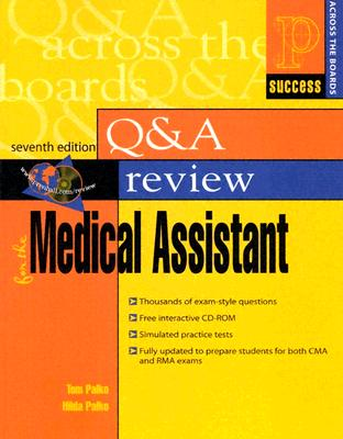 Prentice Hall Health Q & A Review For The Medical Assistant By Palko, Tom/ Palko, Hilda